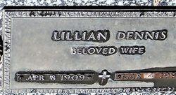 Lillian <I>Briggs</I> Dennis