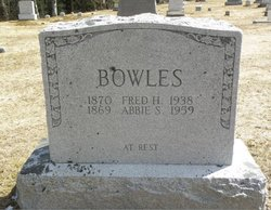 Fred H Bowles