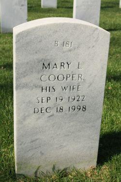 Mary L Cooper
