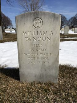 William A DeNoon