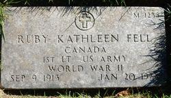Ruby Kathleen Fell