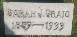 Sara Jane <I>Wood</I> Craig