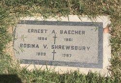 Ernest A Baecher