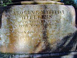 Caroline Matilda <I>Routh</I> Williams