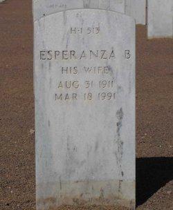 Esperanza B <I>Balderrama</I> Fierro