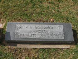Alice <I>Randolph</I> Lewis