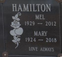 "Melvin Glenn ""Mel"" Hamilton"