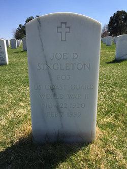 Joe D Singleton