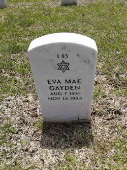 Eva Mae Gayden