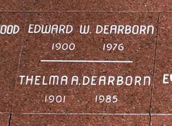 Thelma A. <I>Iverson</I> Dearborn