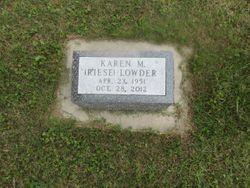 Karen Marie <I>Riese</I> Lowder