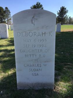 Deborah K Sloan