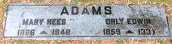 Orly Edwin Adams