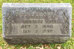 Emma Elbert <I>Bennett</I> Sellers