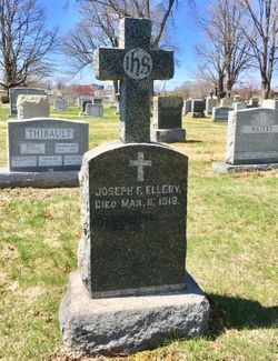 Joseph F Ellery
