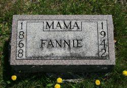 """Frances Letutia """"Fannie"""" <I>Dodge</I> West"""