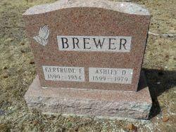 Gertrude Faye <I>Miller</I> Brewer