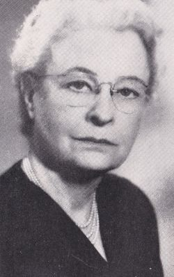 Nettie Ethyl <I>Cundiff</I> Billhymer