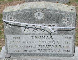 Thomas G Axon