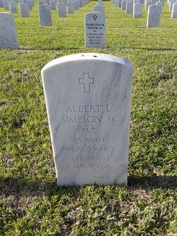 Albert L Simpson, Sr