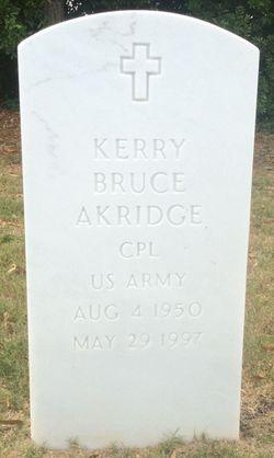 Corp Kerry Bruce Akridge