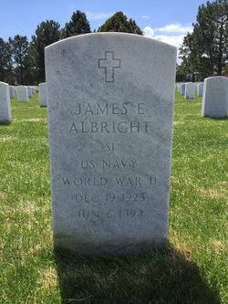 James E Albright