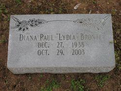 Dr Diana Lydia Bronte