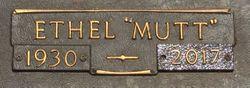 "Ethel ""Mutt"" Waddell"
