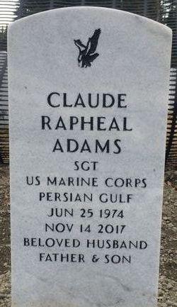 Claude Rapheal Adams