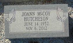 Joann <I>McCoy</I> Hutcheson