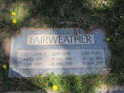 John Evans Fairweather