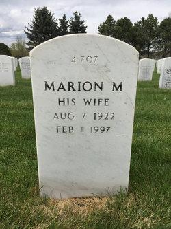 Marion M Cushing