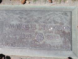 Maude E Sturgeon
