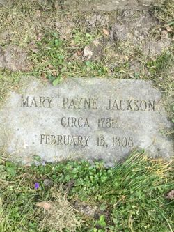 Mary <I>Payne</I> Jackson
