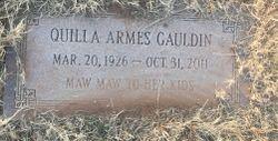 Quilla <I>Armes</I> Gauldin