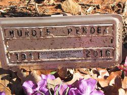 Murdie Pender