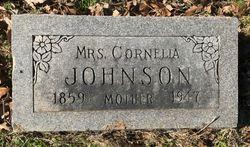 Cornelia <I>Williams</I> Johnson