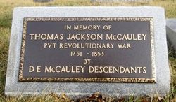 Thomas Jackson McCauley