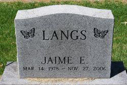 Jaime Elizabeth Langs