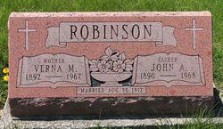 John A Robinson