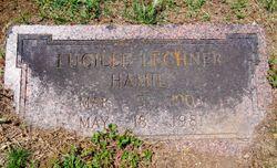 Lucille Elizabeth <I>Lechner</I> Hamil