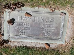 Marie <I>Paterson</I> Hastings