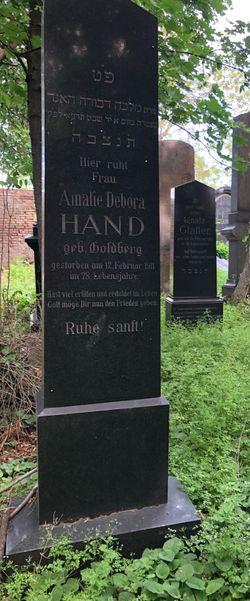 Amalie <I>Goldberg</I> Hand