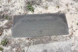 """Elijah """"(or Eligah)"""" McMillan"""