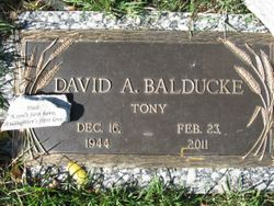 "David Anthony ""Tony"" Balducke, Sr"