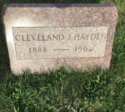 "Cleveland James ""Cleve"" Hayden"