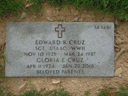 Edward R Cruz