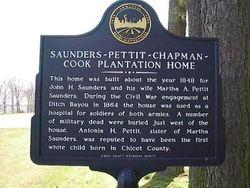 Saunders-Pettit-Chapman-Cook Plantation Cemetery