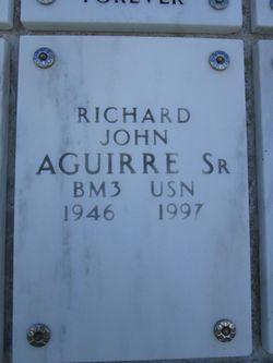 Richard John Aguirre, Sr