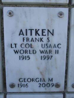 Frank Spottiswoode Aitken
